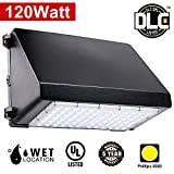 Wall Pack LED Light - 120W 24400lm Home Security Lights,600W HPS/HID Replacement, 5000K Daylight White,UL & DLC Listed,Commercial Grade Weatherproof Outdoor Residential Lighting, 5 Year Warranty