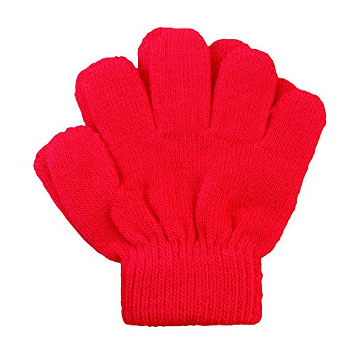 A&R Sports Toddler Handgards Gloves, Red