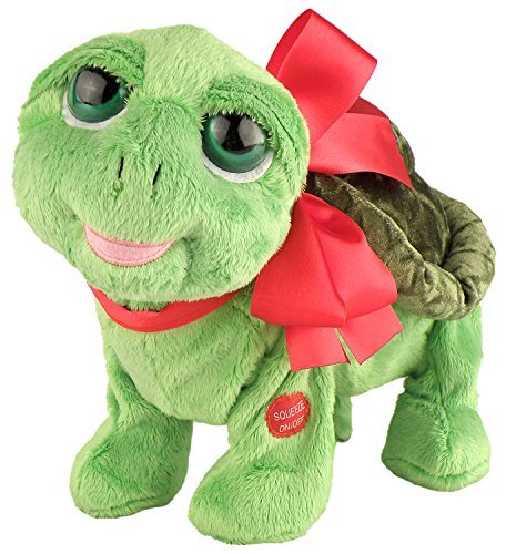 suministro directo de los fabricantes Chantilly Lane Flirtle Flirtle Flirtle Turtle Walking Plush, Dancing Turtle Sings Do You Love Me Plush, 12 by Chantilly Lane  forma única