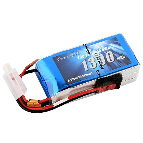 Gens ace 11.1V 1300mAh 3S 25C/50C LiPo Battery Pack with JST Plug for RC Heli Airplane FPV F-18 jet ombat wing Parkmaster 3D f-22 Raptor Nemesis 240 Mini Skylark 250 - 25c 50c Lipo Battery