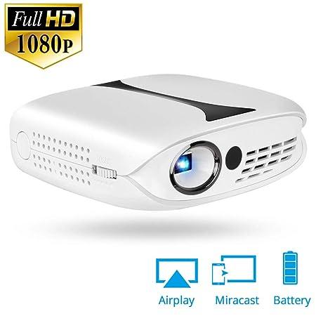 E-kinds Proyector de Video HD, Mini proyector de Cine en casa ...