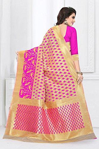 Da Facioun Saris Indiens Pour Les Femmes Portent Partie Design Ethnique De Mariage Traditionnel Sari Rose 89