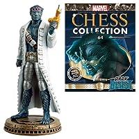Marvel Dark Beast Black Pawn Chess Piece with Collector Magazine