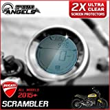 Speedo-Angels 2 x Ducati Scrambler (all models) Dashboard/Instrument Cluster screen protector - Anti-Glare