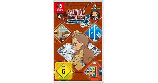 Layton`s Mystery Journey: Katrielle und die Verschwörung der Millionäre – Deluxe - [Nintendo Switch] [Importacion Alemania]: Amazon.es: Videojuegos