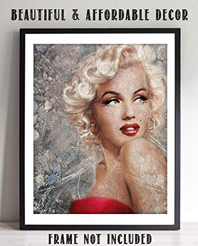 Abstract Marilyn Monroe