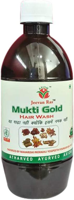 Jeevanras Mukti Gold Hairwash Combo