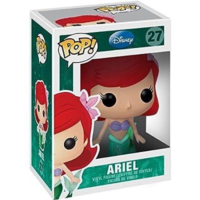 Disney Princess: The Little Mermaid - Ariel as Mermaid Funko Pop! Vinyl Figure (Includes Compatible Pop Box Protector Case): Toys & Games