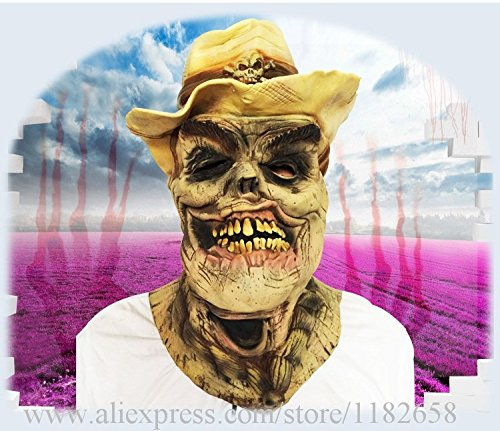 2508 NEWEco-Friendly Latex Adult Size Full Head Halloween Maske Strange Masks Masquerade Mask Skull Horror Frightening Costume Free Ship