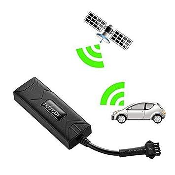 WYXIN GPS Tracker Voiture Véhicule Tracker Localisateur En Temps Réel Suivi De GPS/gsm/GPRS/SMS Moto Vélo De Voiture: Amazon.es: Deportes y aire libre