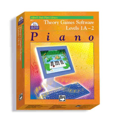 Theory Games for Windows/Macintosh (Version 2.0) -- Levels 1A, 1B, 2: CD-ROM (Alfred's Basic Piano Library)