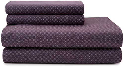 Price comparison product image Calvin Klein Home Somerset Sheet Set,  King,  Mulberry