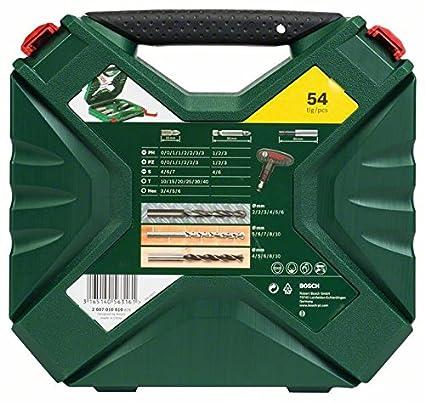 Bosch X-Line - Maletín de 54 unidades para taladrar y atornillar: Amazon.es: Bricolaje y herramientas