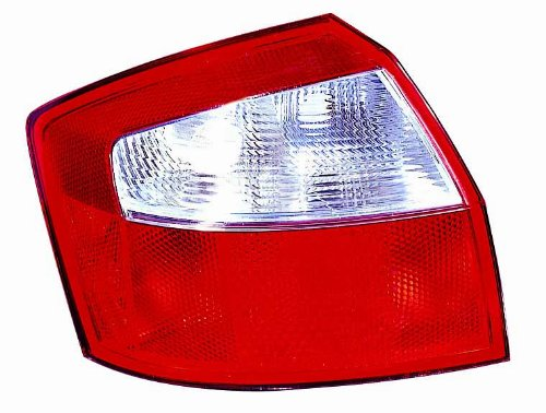 [Depo 341-1916L-AS Audi A4 Driver Side Tail Lamp Lens and Housing] (Audi A4 Lights)