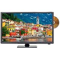 Sceptre E246BD-SMQK 24.0 720p TV DVD Combination, True Black (2017)