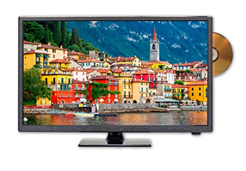 Tv Built Dvd - Sceptre E249BD-SR 24 inches 720p LED TV, True Black (2017)