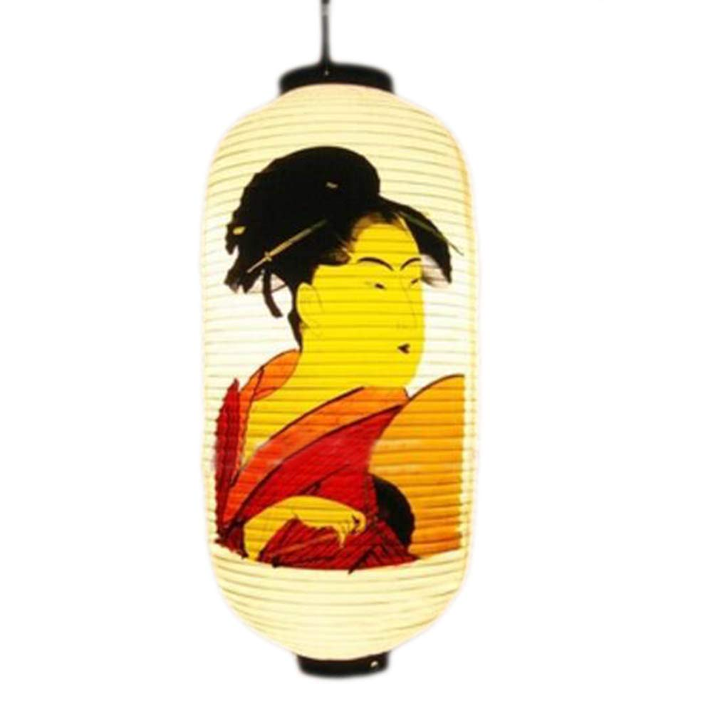 George Jimmy Japanese Style Hanging Lantern Sushi PVC Lampshade Restaurant Decorations-A40