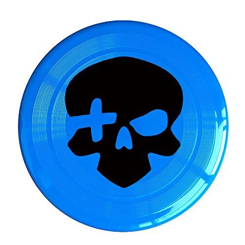 RCINC Video Game Skull Logo Outdoor Game Frisbee Flying Discs RoyalBlue