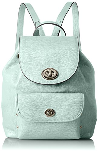 COACH Women's Mini Turnlock Tie Rucksack