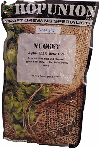 Home Brew Ohio Us Nugget 1 Lb. Hop Pellets for Home Brewi...