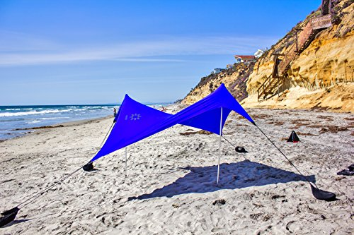 Neso Tents Beach Tent with Sand Anchor ... & Neso Tents Beach Tent with Sand Anchor Portable Canopy Sun ...