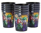 American Greetings Lego Batman Plastic Cups Paper, Stadium Cup, 12-Count