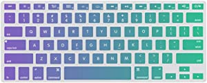 Keyboard Cover Skin for MacBook Kye Meh Washable Silicone Keyboard Skin,13.3 inches