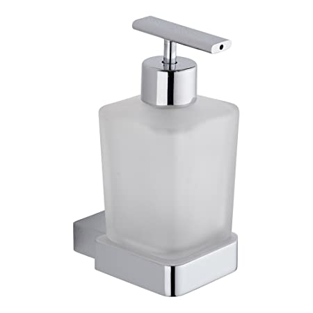 Marvelous Milano Parade Chrome Bathroom Wall Mounted Soap Dispenser In Modern Style