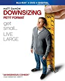 Downsizing [Blu-ray + DVD + Digital]