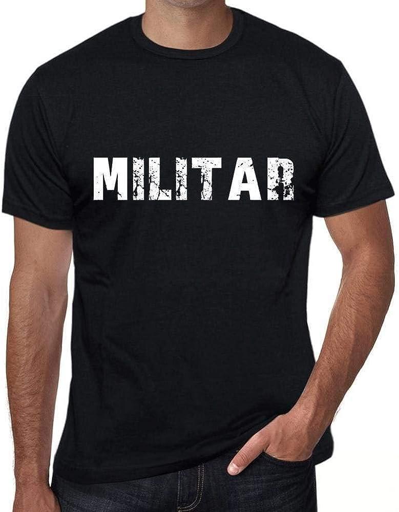 One in the City Militar Hombre Camiseta Negro Regalo De Cumpleaños 00550: Amazon.es: Ropa y accesorios