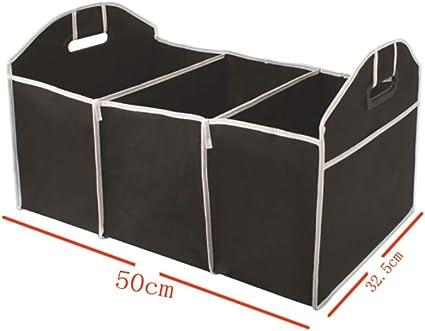 Veronivan Grand coffre de voiture coffre de rangement organisateur sac /à outils sac de voiture bo/îte pliante sac de rangement bo/îte /à outils super solide durable avec plusieurs compartiments