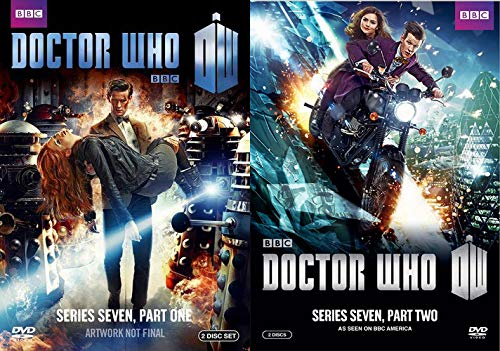 Amazon Com Matt Smith S Last And Best Season Of The Doctor Doctor Who Series 7 Part 1 Doctor Who Series 7 Part 2 Dvd Bundle Matt Smith Movies Tv