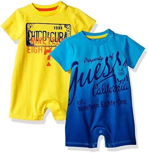 GUESS Baby Boys' 2 Piece Bodysuit Set