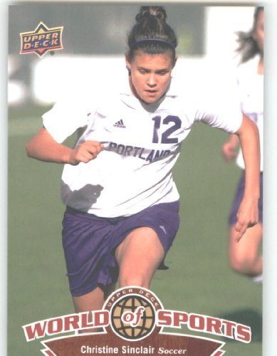 (2010 Upper Deck World of Sports #116 Christine Sinclair/Women's Soccer Cards/Pilots /)