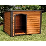 Precision Pet Extreme Log Cabin Medium 44.5 in. x 26.4 in. x 29.5 in.