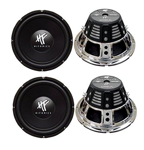 HIFONICS HFX12D4 2400W Audio Subwoofers