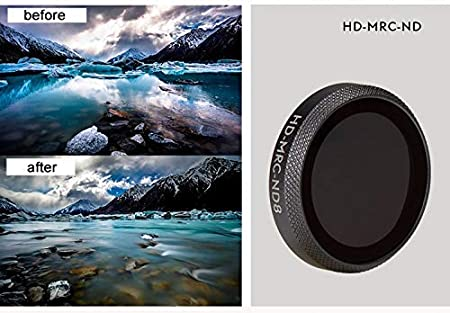 ND-PL Lens Filter for DJI Mavic 2 Zoom Drone UV CPL ND4 ND8 ND16 ND32 ND64 Neutral Density Polarizing Polar Camera Kit HD Lens ND4