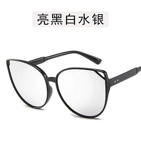 Yangjing-hl Gafas de Sol para Hombres y Mujeres Ojos de Gato ...