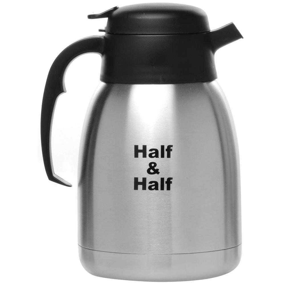 Service Ideas FVP15HALFET Server,''Half & Half'' Etched, 1.5 L