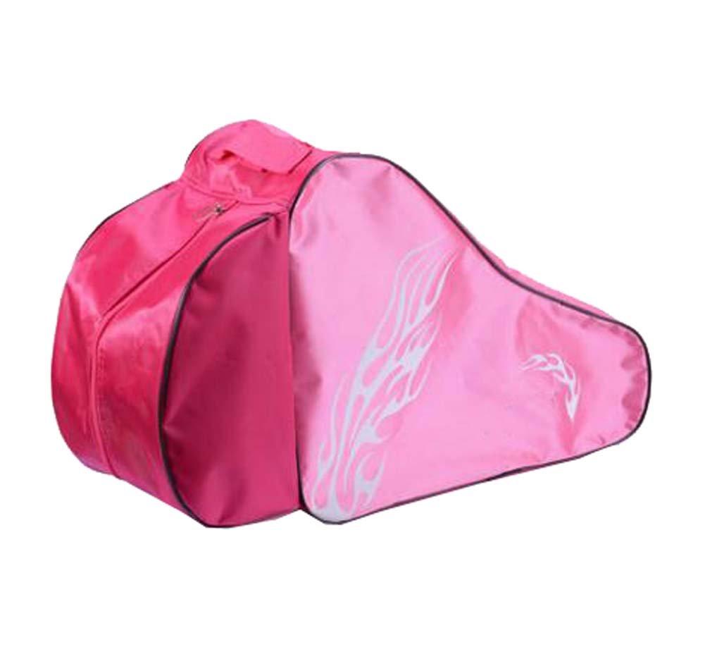 Black Temptation Skate Bag - Sac pour Transporter des Patins à Glace, Patins à roulettes, Patins à Roues alignées pour Enfants/Adultes, B
