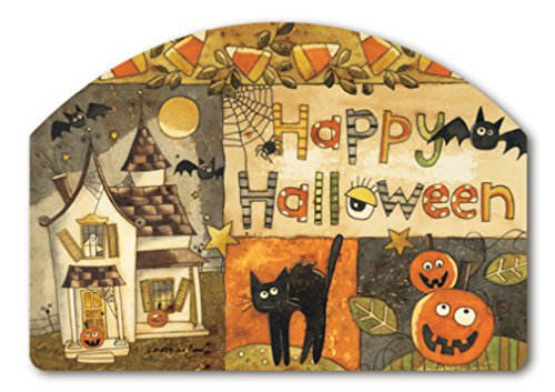 [Yard Design Spooky Halloween Yard Sign 73811] (Halloween Yard)