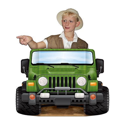 Cut Out Costumes Kids (Jungle Safari Photo Prop Party Accessory (1 count) (1/Pkg))