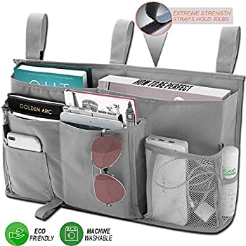 Amazon Com Troveq Bedside Dorm Hanging Caddy Large 8