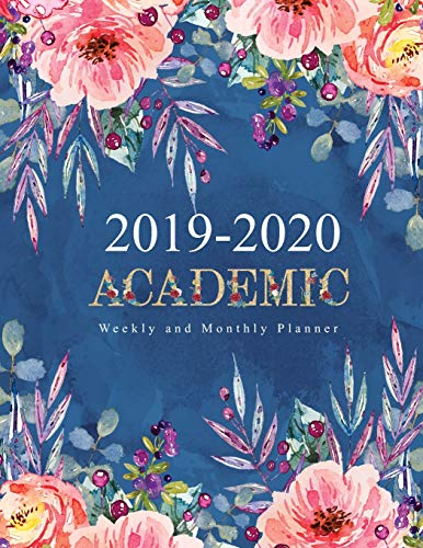 Pdf Law 2019-2020 Academic Planner Weekly and Monthly: Decorative Watercolor Flower Cute Design Cover | Academic Planner Weekly And Monthly | Yearly Calendar ... Month Calendar Academic Planner 2019-2020)