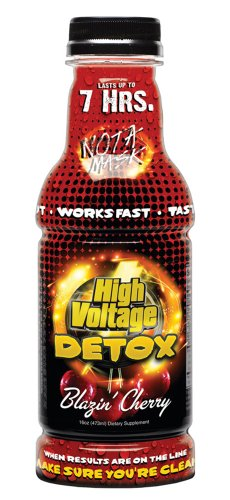 High Voltage Detox Drink 16oz Blazin' Cherry