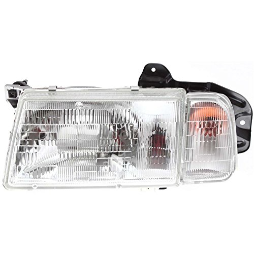 30020200 Headlamp (Evan-Fischer EVA13572014310 New Direct Fit Headlight Head Lamp Composite Clear Lens Halogen With Bulb(s) Driver Side Replaces OE# 30000155, 30020200 and Partslink# GM2502191, GM2502179)