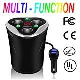 [Newest 2018] 3-Socket Cigarette Lighter Splitter 12V/24V 120W DC Power Outlet Car Cup Charger with 3.1A 3-Port Car USB Adapter Charger Cupped Plug for iPhone, iPad, Samsung, GPS, Dashcam and More Review