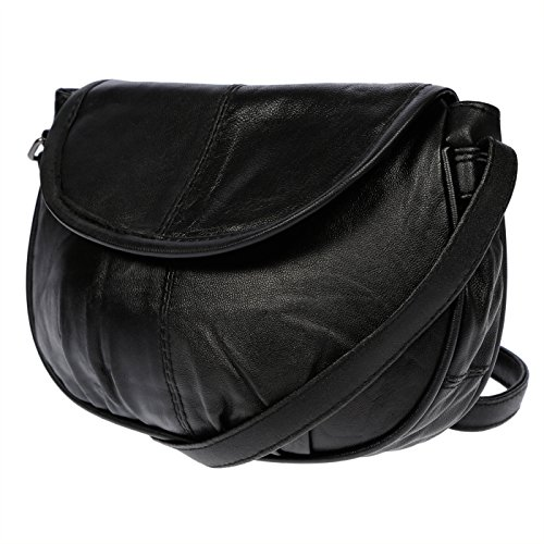 para negro 20 15 cm cruzados Wippermann® 6 x mujer x Negro Christian Bolso q0wtYCxT
