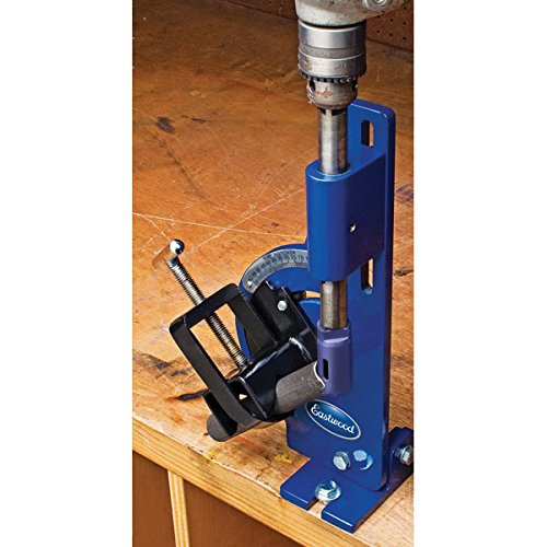Eastwood Tube And Pipe Notcher Tool For 0-60 Degree Angle Notches Up To 2 in. Round Tubing Bore Hole In Mild Steel Stainless Alum