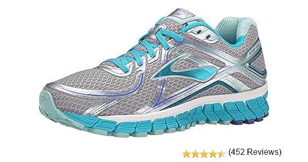Brooks Adrenaline Gts 16 W - Zapatillas de Running Para Mujer, color Multicolor (Silver/Bluebird/Blue Tint), talla 37.5 EU: Amazon.es: Zapatos y complementos